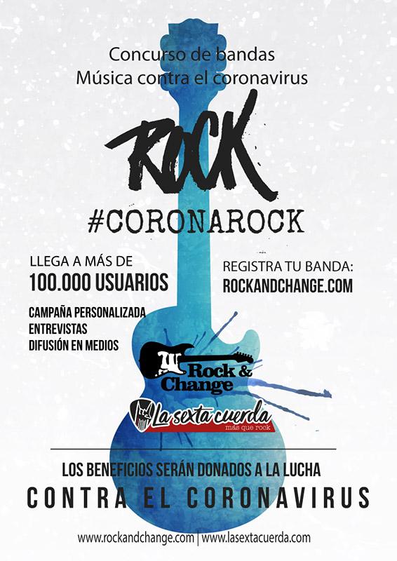 #CoronaRock - Música para combatir el Coronavirus