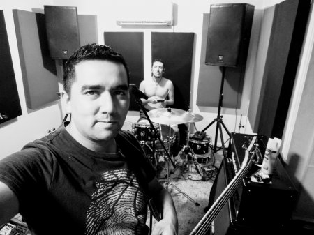 JORGE BASS AND DRUMS